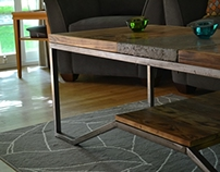 Christ Reclaimed Coffee Table