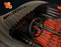 HIVE, the 3D printed car