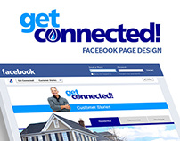 Get Connected Facebook Page Design