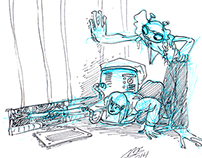 Space Opera Project Sketches