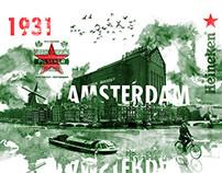 Heineken posters for Limited Edition Bottles
