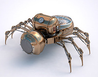 Steam Spider