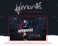 Hernanes - Web Concept