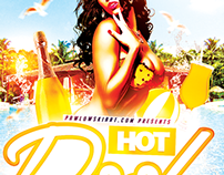 Hot Pool Party PSD Flyer Template