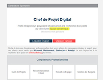 Email Candidature / Email Application