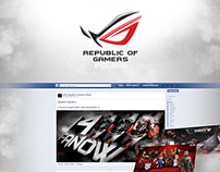 ASUS Republic of Gamers on Facebook