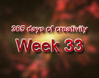 365 days of creativity/art - Week 33