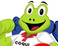 Coqui Mascot