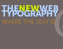 The New Web Typography (Presentation)