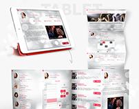 Dansinn Dance Studio - Web and Mobile