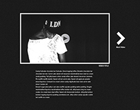 40 Oz Hat Release and About Page