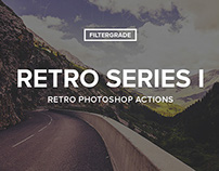 Retro Series I Photoshop Actions