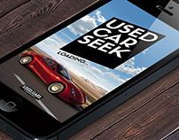 Mobile App Concept - Used Car Seek