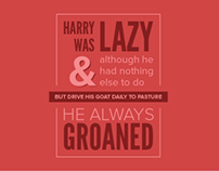 Lazy Harry Animated Story