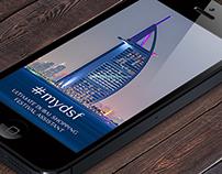 #mydsf - Dubai Shopping Festival Concept App