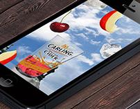 Carling Cider AR Fruit Grabber - App Concept