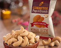 Cornitos Cashews Packaging Design- LogoPeople India