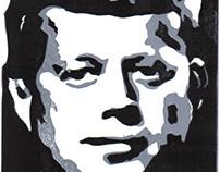 Portraits (Linoleum Block Relief Prints)