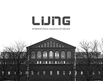LIVING + REST / Museum Branding