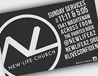 New Life Church Advertising