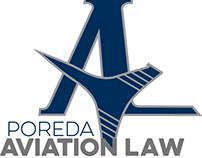 Poreda Aviation Law - Logo and Branding Materials