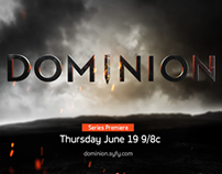 "Promo for SyFy's Dramatic New Series, ""Dominion"""