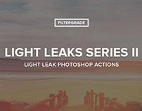 Light Leaks Series II Photoshop Actions