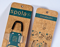 Brand and new packaging of Spola