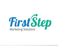 First Step Marketing Solutions Logo V1