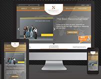 Responsive Website - Software company