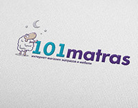 Logo and corporate identity 101 matras
