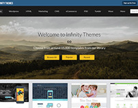 A theme selling website