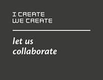 I CREATE WE CREATE