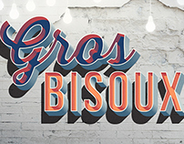 PERSO - Gros Bisoux Wall - Graphic Design