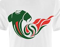 Mexican Soccer T-Shirt Design