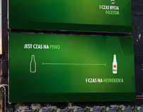 Heineken - unrealized pitch project from 2013