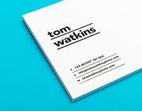 Tom Watkins Identity