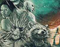 Guardians Of The Galaxy Poster Posse Project