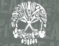 Weapons of Mass Creation Fest Vector Skull Icons Pack