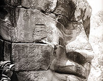Faces of Angkor Thom l Cambodia