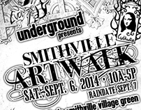Smithville artwalk flyer
