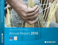 Barclays Bank Botswana Annual Report proposed design