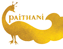 Paithani - a textile to graphic translation project
