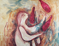 Sketch-based paintings