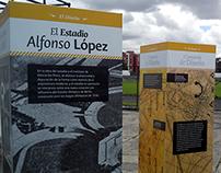 "Exposición ""Estadio Alfonso López"""