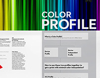 Color Profile - Information Poster