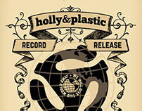 Poster: holly&plastic