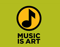 Music is Art - Poster campaign