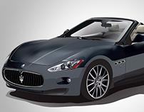 Maserati GranCabrio Vector