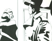 Comic noir